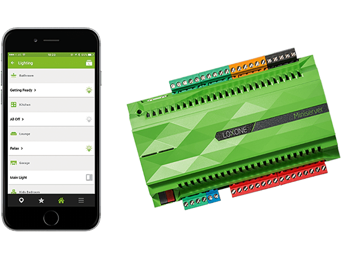 LOXONE in Verbindung mit SEC-Touch