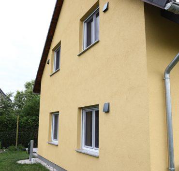 Liebevoll errichtetes Einfamilienhaus
