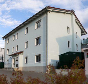 Mehrfamilienhaussiedlung