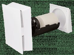 Dezentrale Lüftung SEVi 160CA – Innenblende mit F7 Filter