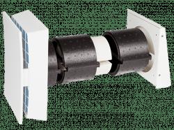 Dezentrale Lüftung SEVi 160DUO Mini – Abluftsystem mit Wärmerückgewinnung