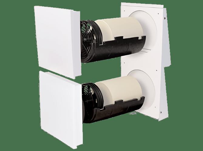 Dezentrale Lüftung SEVi 160D – Einzelraumlüftung
