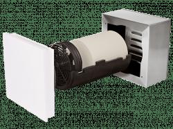 Dezentrale Lüftung SEVi 160L – Wandeinbau ab 150 mm