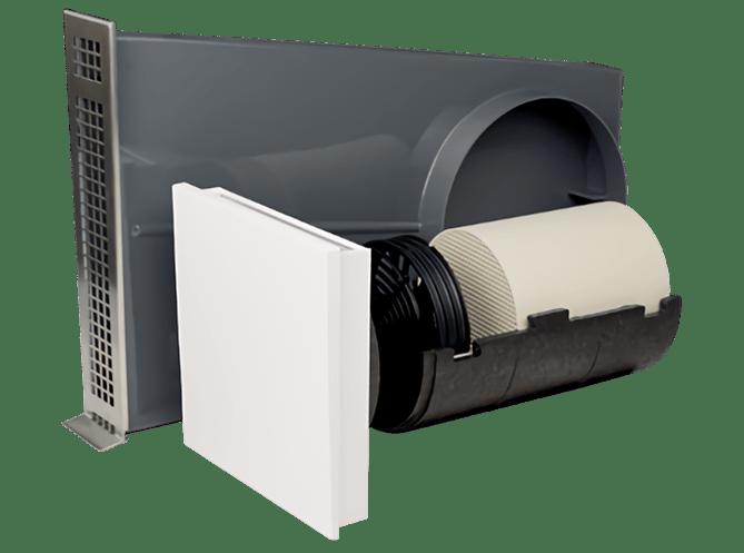 Dezentrale Lüftung SEVi 160U – Laibungsvariante
