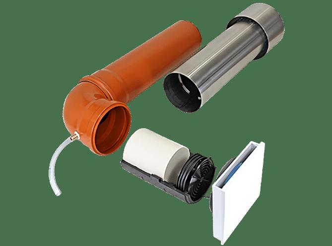 Dezentrale Lüftung SEVi 160CE – Kellerlüftung