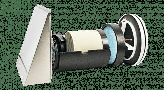 Dezentrale Lüftungssysteme - SEVi 200 und unterstützende Lüftungssysteme
