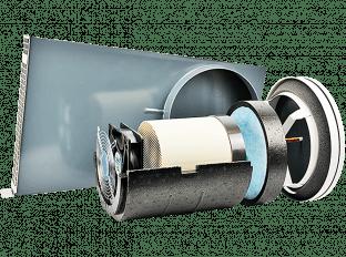 Dezentrale Lüftung SEVi 200U – Laibungsvariante