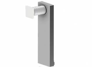 Dezentrale Lüftung SEVi Silent 160 ULF – Umlenkung Fassade