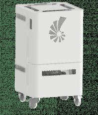 PuriCube   Ruhiger & effizienter Luftreiniger mit HEPA Filter – im Schallraum entwickelt